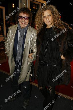 Uk Premiere of the Film 'Sleuth' Bill Wyman and Suzanne Accosta
