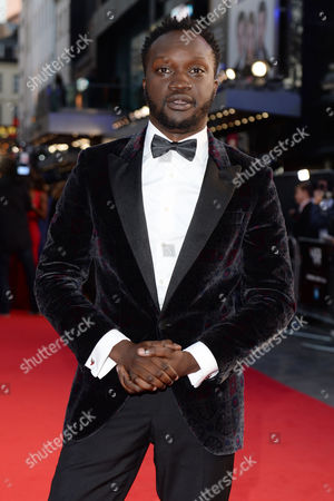 London, England 5th October 2016: Arnold Oceng at the Premiere of 'A United Kingdom', at the Opening Night Gala of the 60th Bfi London Film Festival,at the Odeon Leicester Square in London, England On the 5th October 2016.