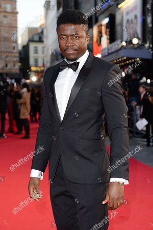 London, England 5th October 2016: Merveille Lukeba at the Premiere of 'A United Kingdom', at the Opening Night Gala of the 60th Bfi London Film Festival,at the Odeon Leicester Square in London, England On the 5th October 2016.
