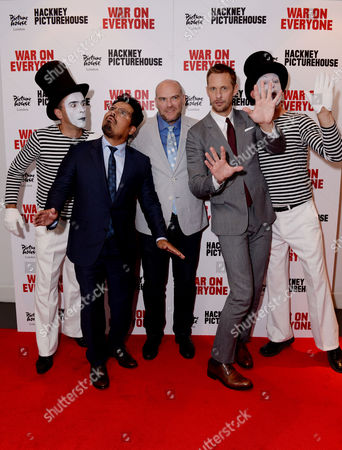 Editorial photo of War On Everyone Premiere Crawl London 29th Sept 2016