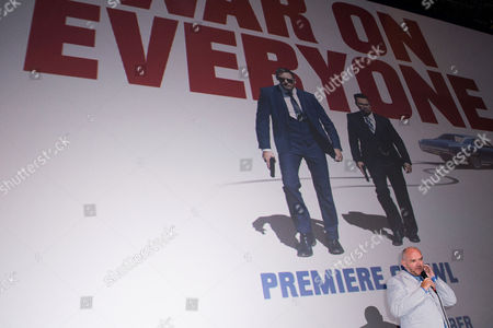 London UK 29th Sept 2016: John Michael Mcdonagh Introduce His Film During at the Final Leg of the War On Everyone 'premiere Crawl' Across London UK at the Ritzy Picturehouse, Brixton On the 29th September 2016