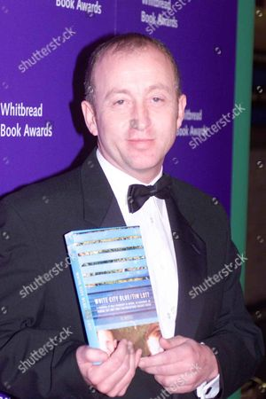 Whitbread Book Awards at the Brewery Chiswell Street London Tim Lott