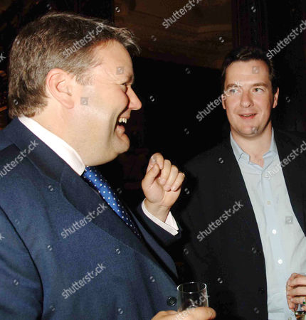 'A History of the English Speaking Peoples' Book Launch Party at the English Speaking Union Rt Hon Lord Strathclyde Thomas Galbraith and George Osborne Mp