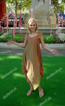 The Uk Premiere of 'Charlie and the Chocolate Factory' at the Odeon Leicester Square Annasophia Robb