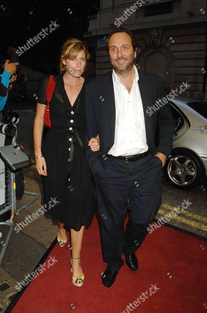 'The Queen' Uk Premiere at the Curzon Mayfair David Mcmillan with His Wife Arabella Pollen
