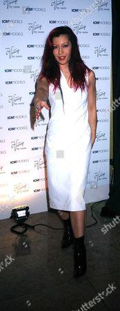 1st Birthday Part of Icm Models at the Embassy Club Old Burlington Street London Saffron Sprackling