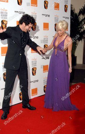 Orange British Academy Film Awards Arrivals at the Royal Opera House Covent Garden Joe Mott and Sarah Harding