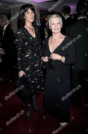 50th Bafta Television Awards Afterparty at the Grosvenor House Hotel Lady Eyre with Dame Judi Dench