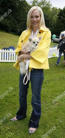 6th Annual Macmillan Dog Day For Cancer Support at the Royal Hospital Chelsea Normandie Keith with Sugar