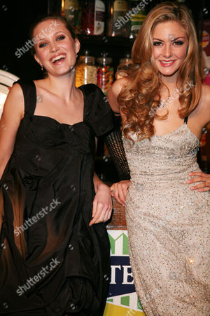 Afterparty For the World Premiere of 'St Trinians' at Cirque Leicester Square Tereza Srbova and Tamsin Egerton