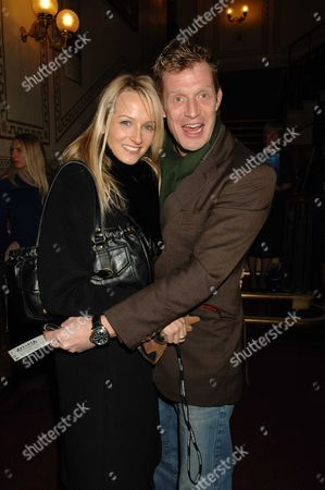 Stock Picture of 1st Night of Alegria Cirqus Du Soleil at the Royal Albert Hall London Jason Flemyng & Ellie Fairman
