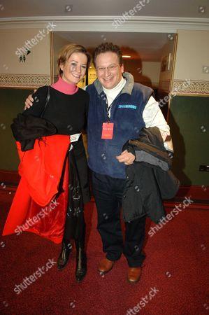 1st Night of Alegria Cirqus Du Soleil at the Royal Albert Hall London Kate Sanderson & Pierre-yves Gerbeau