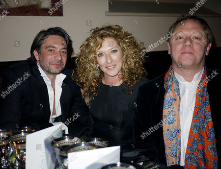 50th Birthday Party at Number 1 Mayfair St Marks Church North Audley Street Adam Meiklejohn Kelly Hoppen with Her Brother Michael Hoppen