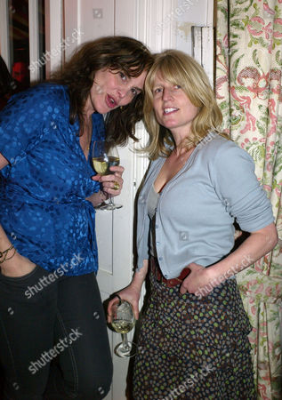 Americans in Paris Book Launch at Private House in Lansdowne Road Notting Hill London Janine Di Giovanni & Rachel Johnson