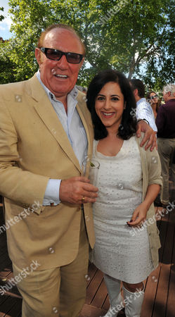 Andrew Neil Celebrates His 60th Birthday with A Party at His Home in Fulham Andrew Neil and Anita Anand