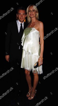 Emporio Armani One Night Only at Earls Court London Andriy Shevchenko with Wife Kristen Pazik