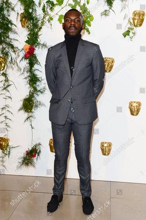 London, England 25th October 2016: Kayode Ewumi at the Bafta Breakthrough Brits at Burberry, Regents Street, London, England On the 25th October 2016.