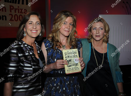 Bbc Four Samuel Johnson Prize For Non-fiction the Ballroom Royal Festival Hall Kirsty Wark the Winner Kate Summerscale For Her Book the Suspicions of Mr Whicher: Or the Murder at Road Hill House and Rosie Boycott