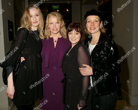 Bedroom Farce 1st Night Afterparty at the Waldorf Hotel Aldwych London Rachel Pickup Sara Crowe Flinty Williams & Jenny Seagrove