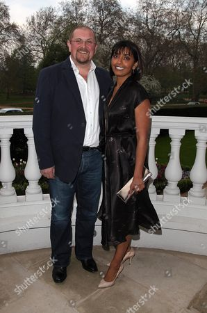 British Academy Television Awards Nominations Party at the Mandarin Oriental Knightsbridge Charles Dale and Sunetra Sarker