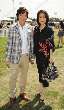 Cartier International Polo at Smiths Lawn Windsor Andy and Patti Wong