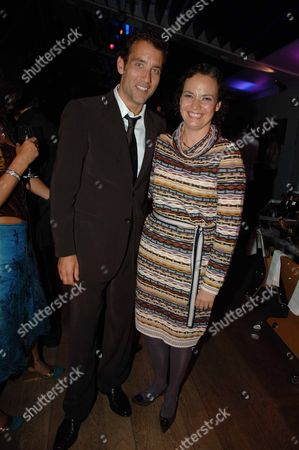 Stock Image of Children of Men Afterparty at the Oxo Tower London Clive & Sarah-jane Owen