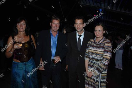 Children of Men Afterparty at the Oxo Tower London Glenn & Venessa Hoddle with Clive & Sarah-jane Owen