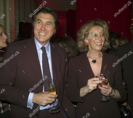 Stock Image of Chinese New Year - Vip Party at the Mandarin Oriental Hyde Park Knightsbridge Vip's Attend Annual Vip Party Celebrating Chinese New Year Bryan Ferry with Marie-claire Baroness Von Alvensleben