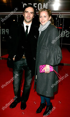 Closing Night of the London Film Festival with 'Slumdog Millionaire' at the Odeon Westend Ben Chaplin and Megan Dodds
