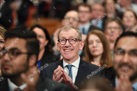 Birmingham, UK 5th October 2016: Philip John May During the Conservative Party Conference, Birmingham, England. 5th October 2016.