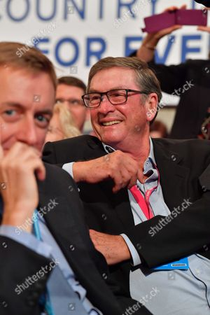 Birmingham, UK 2nd October 2016: Lord Michael Ashcroft at the Opening Session Brexit Debate of the Conservative Party Conference in Birmingham, England On the 2nd October 2016.