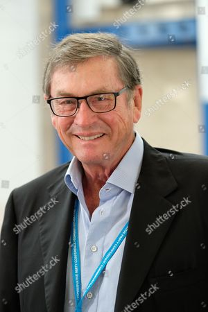 Birmingham, UK 2nd October 2016: Lord Michael Ashcroft at the Conservative Party Conference in Birmingham, England On the 2nd October 2016.