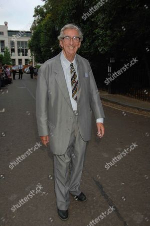 Annual Summer Garden Party in Carlyle Square Chelsea Lord Denis Healey