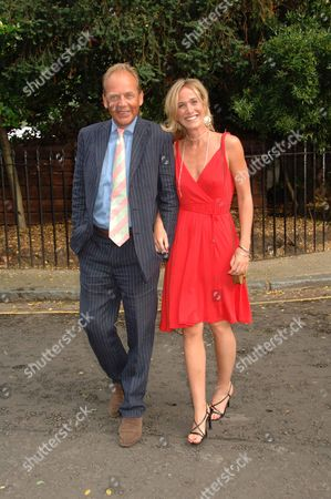 Stock Picture of Annual Summer Garden Party in Carlyle Square Chelsea Patrick Ryecart
