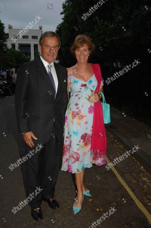 Annual Summer Garden Party in Carlyle Square Chelsea Lord Ian and Lady Maclaurin