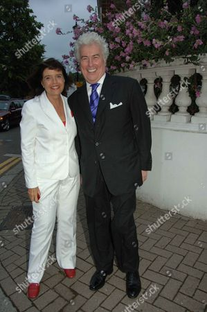 Annual Summer Garden Party in Carlyle Square Chelsea Ken and Barbara Follett