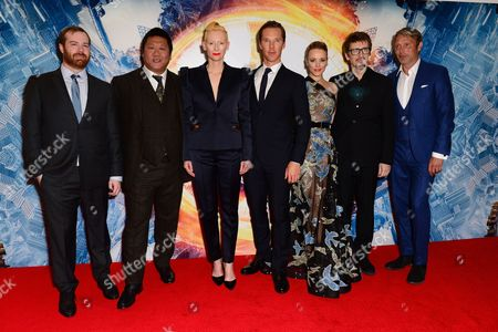 Editorial image of Doctor Strange Red Carpet Launch On the 24th October 2016