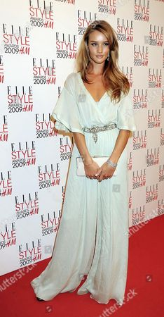 Elle Style Awards 2009 in Association with H&m at the Big Sky Studios Best Model - Rosie Huntington-whitley