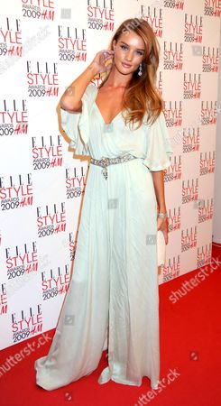 Elle Style Awards 2009 in Association with H&m at the Big Sky Studios Rosie Huntington-whitley