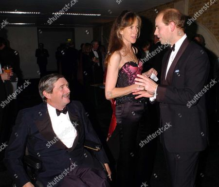 Mark Vestey with His Wife Rose and Prince Edward the Duke of Wessex