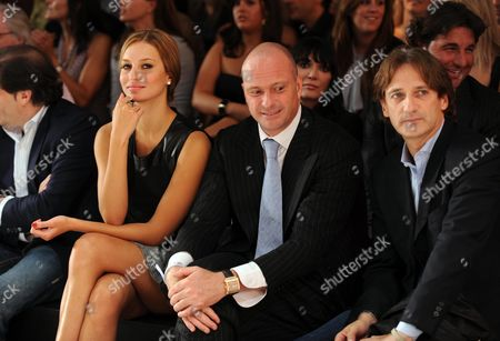 17 09 2008 Fashion For Relief in Support of the White Ribbon Alliance at the Natural History Museum During London Fashion Week Front Row - Giuseppe Cipriani