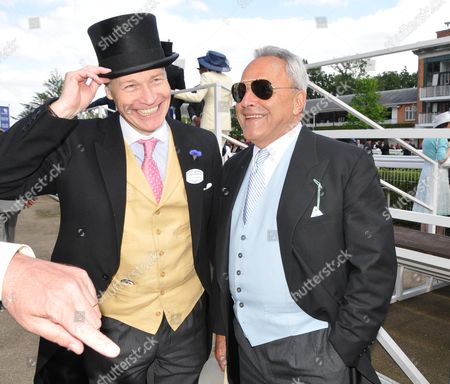First Day of Royal Ascot 2010 at the Ascot Racecourse Ascot Berkshire Richard Kay and Taki Theodoracopulos