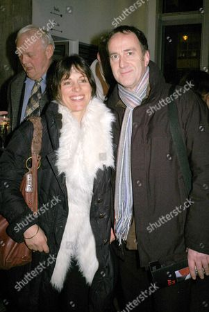 First Night of 'Period of Adjustment' at the Almeida Theatre Islington Lise Mayer and Angus Deayton