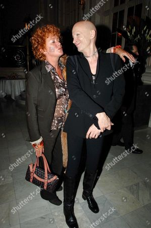 First Night of 'Sinatra' at the London Palladium and Afterparty at the Palm Court Waldorf Hotel Patricia Quinn and Richard Brien