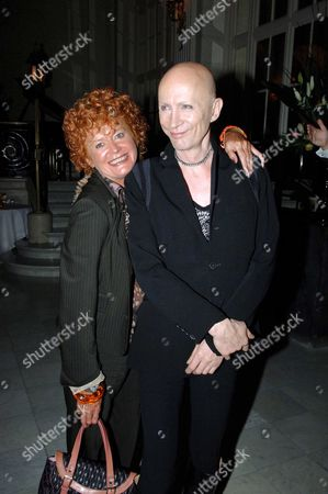 First Night of 'Sinatra' at the London Palladium and Afterparty at the Palm Court Waldorf Hotel Patricia Quinn and Richard O'brien