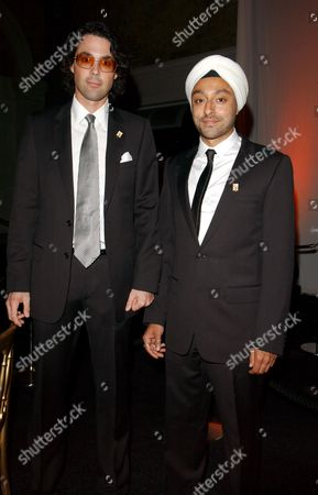 The First Summit For 'Fortune Forum' at Old Billingsgate Walk Lucas White and Vikram Chatwal