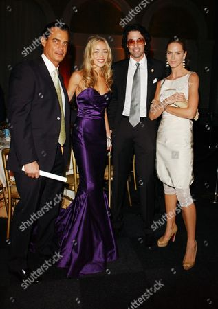 The First Summit For 'Fortune Forum' at Old Billingsgate Walk Matthew Mellon Noelle Reno Lucas White and Trinny Woodall