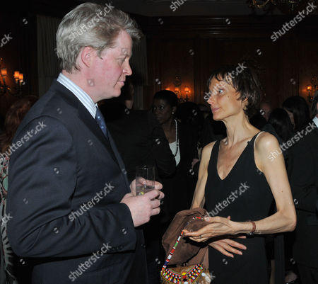 Stock Picture of Fortune Forum Dinner at the Dorchester Hotel Earl Charles Spencer & Tracy Marchioness of Worcester