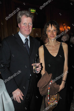 Stock Photo of Fortune Forum Dinner at the Dorchester Hotel Earl Charles Spencer & Tracy Marchioness of Worcester