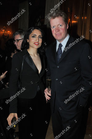 Fortune Forum Dinner at the Dorchester Hotel Renu Mehta and Earl Spencer